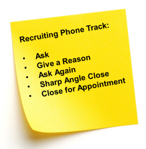 Recruiting track